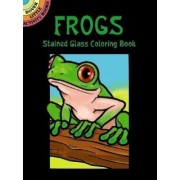 Frogs Stained Glass Coloring Book by John Green