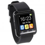 Smartwatch U80 Bluetooth Multifuncional - Preto