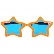 Ochelari gigant stelute portocalii