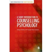 A Short Introduction to Counselling Psychology by Vanja Orlans