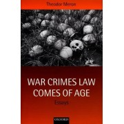 War Crimes Law Comes of Age by Theodor Meron