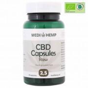 CBD capsules 2,5% MediHemp 12,5 mg