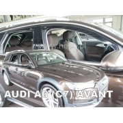 Deflektory komplet 4 ks - Audi A6 (C7) avant, 2011-