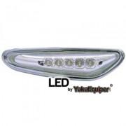 2 Clignotants repetiteurs LED d'aile BMW Serie 1 E81 E87 04-07 -...