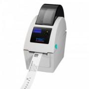 Imprimanta de bratari TSC TDP-225W, USB Host, display, alba