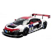 Spark - 5021400315 - Audi R8 LMS Ultra WRT - Gagnant 24H De Nürburgring 2014 - Échelle 1/18 - Blanc/Rouge/Noir