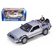 Welly 1/24 Scale Diecast Metal Delorean Time Machine Back to the Future Part II by welly