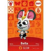 Animal Crossing Happy Home Designer Amiibo Card Bella 069/100