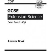 GCSE Further Additional (Extension) Science AQA Answers (for Workbook) (A*-G Course) by CGP Books