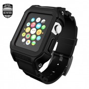 Incipio Octane Case - удароустойчив хибриден кейс за Apple Watch 42 mm (черен)