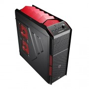 Aerocool XPredator X1 Case Middle Tower per PC, Rosso