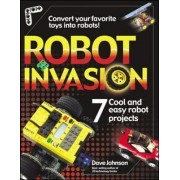 Robot Invasion by Dave Johnson