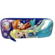 V Moda Multi Purpose Pencil Pen Case Storage Box Holder pencil Pouch Pencil Box For Boys And Girls (Medium, FROZEN)