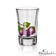 Pálinkás pohárkészlet (4cl) 6darab