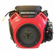 Honda Engines V-Twin Horizontal OHV Engine with Electric Start (688cc, GX Series, 1 Inch x 2 29/32 Inch Shaft, Model: GX630RHQZE)
