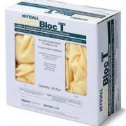 Exam Glove ChemoPlus NonSterile Powder Free Latex Hand Specific Textured Fingertips Ivory Chemo Tested Medium Qty 100