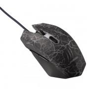 Gejmerski miš uRage Iluminated, HAMA tamno sivi 113722