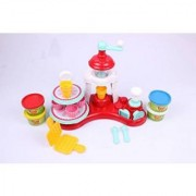 Funskool-Fundoh Ice Cream Shop Multi Colour