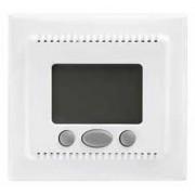 Sedna szobatermosztát komfort funkcióval 16A fehér, 230VAC, max. 3680W