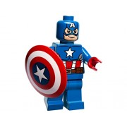 Lego Captain America Minifigure - Split from 76017 Set by LEGO