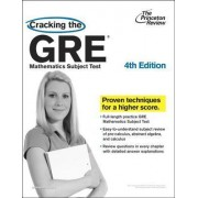 Cracking the GRE Mathematics Subject Test by Princeton Review