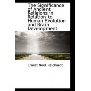 The Significance of Ancient Religions in Relation to Human Evolution and Brain Development by Ernest Noel Reichardt