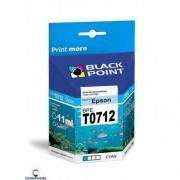 BlackPoint [BPET0712] Ink/Tusz Black Point (Epson T0712) cyan