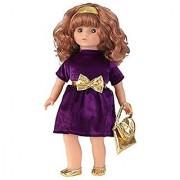 KidKraft Girl's Haley Holiday Doll 18