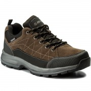 Туристически HI-TEC - Batian Low Wp AVSAW17-HT-01 Brown/Black/Dark Grey