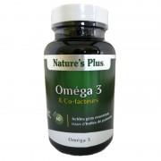 Oméga 3 et Co-facteurs Nature's Plus 60c