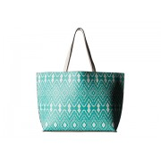Echo Design Ikat Essex Reversible Tote Caribbean BlueWhite