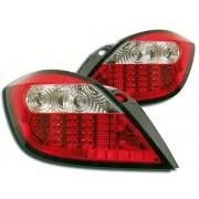 Stopuri cu LED Opel Astra H 04- clar / rosu