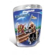 Playmobil 5357 - Cavaliere Oscuro alla Giostra Medievale