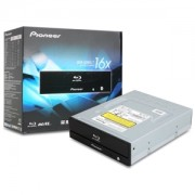 Blu-Ray Writer Pioneer BDR-S09XLT, SATA, BD-XL, 3D, M-Disc, Negru, Retail Box (no software)