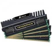 Memorie Corsair Vengeance 32GB (4x8GB) DDR3, 1600MHz, PC3-12800, CL9, XMP, Quad Channel Kit, CMZ32GX3M4A1600C9