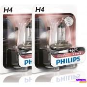 Philips Vision Plus +60% H4 12v 60/55w ( 2 Lâmpadas )