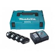 Akumulatorski set baterija i punjača sa koferom Makita 196697-2