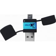 Patriot Memory Stellar Boost XT 16GB 16GB USB 3.0/Micro-USB Zwart, Blauw USB flash drive