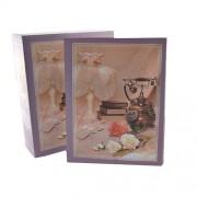 Album foto coperti violet - telefon vintage