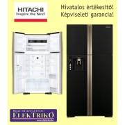 Hitachi R-W660PRU3 (GBK) felülfagyasztós 4 ajtós-Full No-Frost hűtőszekrény