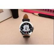 Mickey egér női/gyermek óra, fekete szíj
