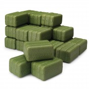ERTL Square Bales - Set of 24 - Green - 12665