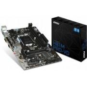 Placa de baza MSI H81M PRO-VD Socket 1150