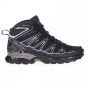 Salomon X Ultra Mid 2 GTX Herren Gr. 10 - schwarz / black/aluminium - Sportliche Hikingstiefel