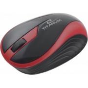 Mouse Wireless Esperanza Titanum TM113R Optic Rosu