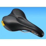 Velo Women's 4166 Inclined Comfort Seat Saddle - Black, 24.6 x 16.1 cm