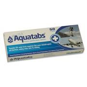 Tabletas AQUATABS de 50 pastillas purificadoras de agua por senderismo