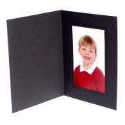 7x5 / 5x7 Black Karnival Photo Folder - Portrait