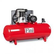 Compresor de aer Fini BK120-500F-10, 400 V, 810 l/min, 10 bar, 500 l