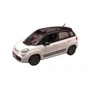 Fiat 500L White 1/24 By Bburago 22126